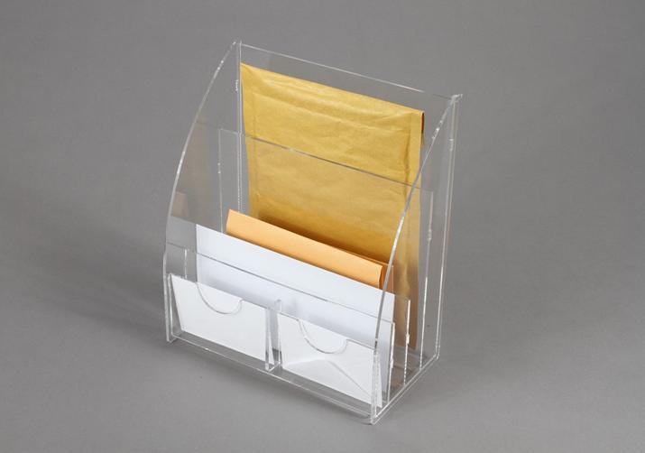 Espositore da banco in plexiglass