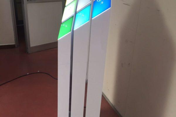 retro plexiglass